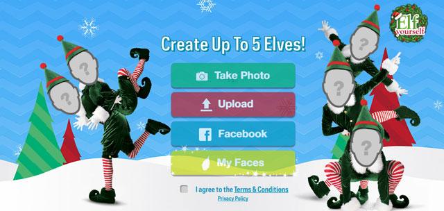 weihnachtsgr sse verschicken als elf mit app web nuggets. Black Bedroom Furniture Sets. Home Design Ideas